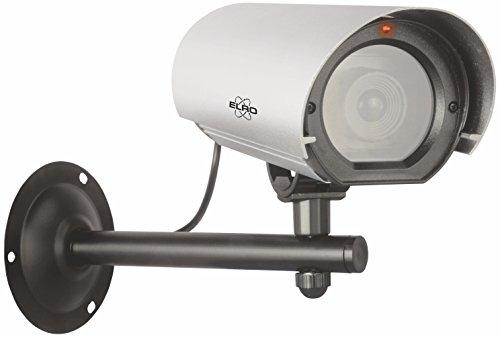 ELRO CDB27F Outdoor Dummy Kamera - Außen Dummy Kamera - Superior - Aluminium - mit Blitzlicht