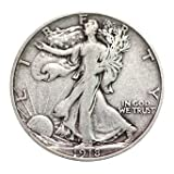 Great silver half. Hand-picked to meet the grade and for eye appeal Dates range from 1918 to 1947. You will get 1-coin in this date range Coin will have full date, full rim, full motto and distinct skirt lines Some coins have mint-marks. All are coll...
