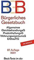 Bürgerliches Gesetzbuch: mit Allgemeinem Gleichbehandlungsgesetz, Produkthaftungsgesetz, Unterlassungsklagengesetz,...