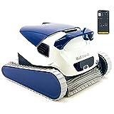 DOLPHIN Blue Maxi 40i - Robot automático limpiafondos para Piscinas (Fondo y Paredes) Sistema de navegación preciso Clever Clean. Control Remoto App MOVIL Bluetooth
