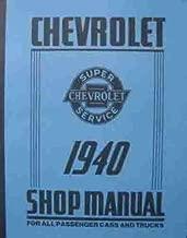 Chevrolet Shop Manual 1940