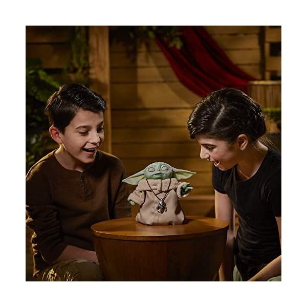 Star Wars The Child Animatronic Edition 7.2-Inch-Tall Toy by Hasbro with Over 25 Sound and Motion Combinations, Toys for Kids Ages 4 and Up 6