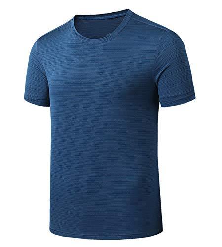 Quic Drying - Camiseta de manga corta para hombre, diseño deportivo