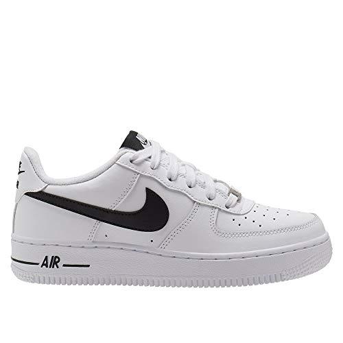 Nike Air Force 1 An20 (GS), Zapatilla de Baloncesto para Niños, WhiteBlack, 39 EU