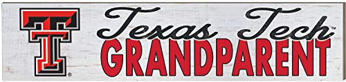 KH Sports Fan 3x13 Weathered Grandparent Texas Tech Red Raiders