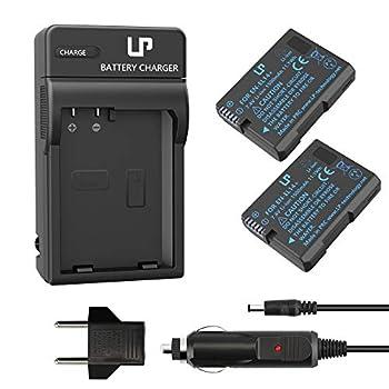 EN-EL14 EN EL14a Battery Charger Pack LP 2-Pack Battery & Charger Compatible with Nikon D3500 D5600 D3300 D5100 D5500 D3100 D3200 D5200 D5300 D3400 DF P7000 P7100 P7700 P7800 & More