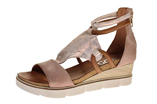 Mjus 866002-201-0002 - Damen Schuhe Sandaletten - Perla-rosa-Sand, Größe:39 EU