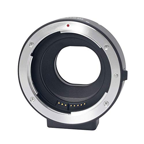 Mcoplus MK-C-AF4 Electronic Auto-Focus EOS M Mount Adapter for Canon EF/EF-S D/SLR Lens to Canon EOS M Cameras,Included EOS M100 M50 M6 M5 M3 M2 M1