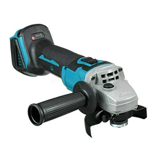 Elektrische Winkelschleifer, Akku-Brushless Motor 18V Li-Ion 125mm Power Tool Kompatibel mit Makita für Schneiden, Schleifen, Polieren, Bare Werkzeug Nein Batterie