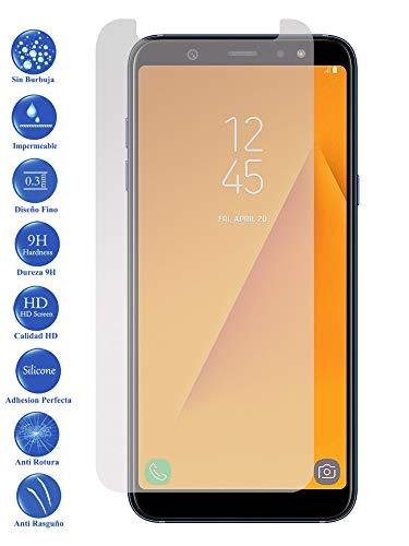 Todotumovil Protector de Pantalla Galaxy A6 Plus de Cristal Templado Vidrio 9H para movil