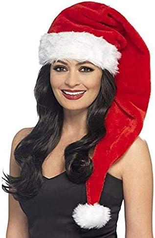 Silkis 31 5 Long Santa Hat Christmas Hats for Adults Xmas Red Santa Hats S017N product image