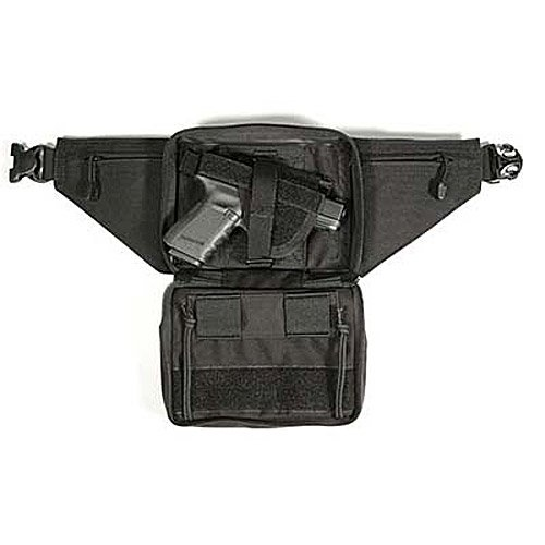 BLACKHAWK Concealed Weapon Fanny Pack with Holster and Retention Belt Loops, Medium