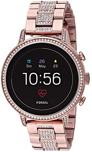 Fossil Women's Gen 4 Venture HR Heart Rate Stainless Steel Touchscreen...