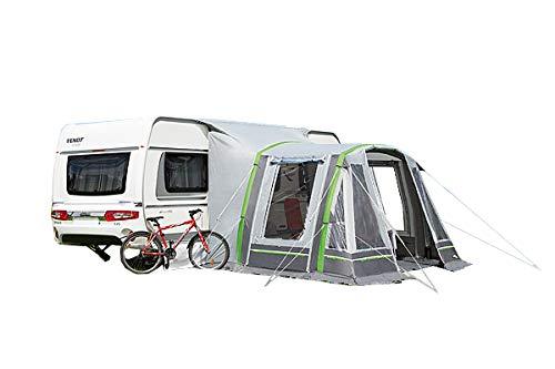 dwt Teilzelt Garda Air 340x300 grau Vorzelt Wohnwagen aufblasbar Outdoor Camping Wohnwagenvorzelt 10 cm Air-In-System Zelt Ultraleicht