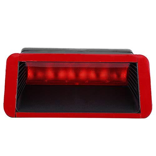 Luz de freno central de montaje alto, roja 5 LED 12V Universal para coche Montaje alto trasero Tercer tercer freno Luz trasera Lámpara Tercera lámpara de freno Conjunto,