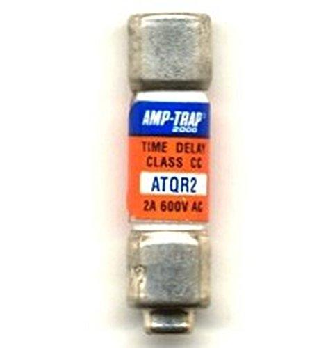 Ferraz Shamwut/Mersen ATQR2, 2Amp 600V Cartridge Fuse