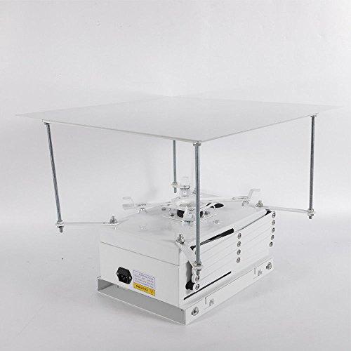Prit2016 220V Remote Beamer Beamer Beamer Beamer Beamer für Elektrik/Projektor Lift mit Fernbedienung, Flach, für Büro