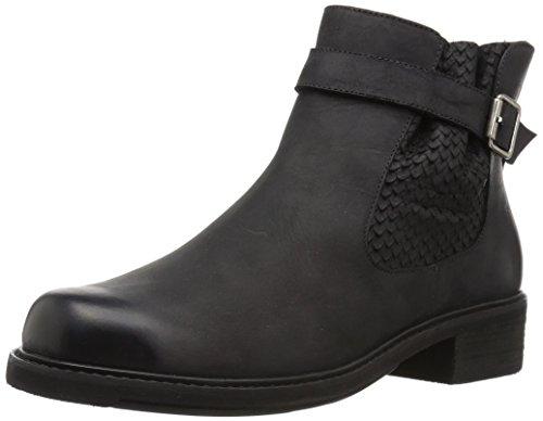 Walking Cradles Women's Devin Ankle Boot, Black Distressed, 11 M US