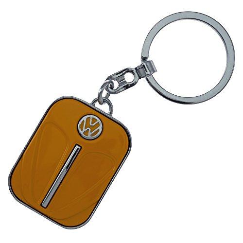 Original Volkswagen VW Bus Schlüsselanhänger T1 Verschiedene Farben (Orange)