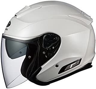 オージーケーカブト(OGK KABUTO)バイクヘルメット ジェット ASAGI パールホワイト (サイズ:L)