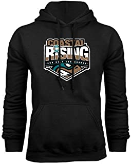 Coastal Carolina Black Fleece Hoodie 'Coastal Rising - Sun Belt Conference'