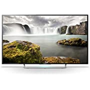 Sony KDL-48W705C 48 inch Widescreen 1080p Full HD Smart TV with Freeview - Black