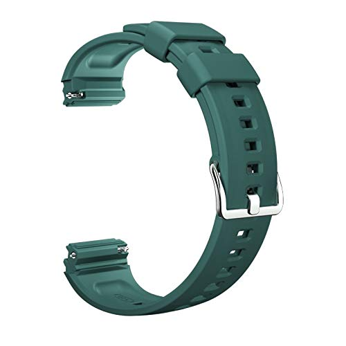 PZZZHF Silicona Wamkands Transpirable Múltiple Deporte Correa de reemplazo Ajustable Banda para Huawei Watch GT2e Strap (Band Color : 2, Size : For Watch GT 2e)