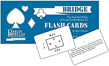 Baron Barclay Bridge Flash Cards - The Standard Plays of Card Combinations - The Plays Every Bridge Player Must Know