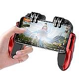 Meipai Mobile Game Controller Cuatro Dedos Conexión Mobile Gaming Trigger para PUBG Gaming Grip Game