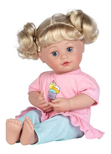 """Adora My Cuddle & Coo Baby """"Sweet Dreams"""" - Touch Activated Doll with 5 Sounds: She Cries, Coos, Giggles, Kisses Back & Says Momma , Pink"""