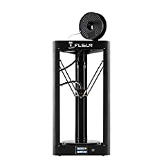 FLSUN-QQ-S Pre-assembled 3d printer: √ WIFI remote controller  √ The Lattice galss platform √ Three fan for effector √ Double fan cooling system for board √ SD card including instruction files and software √ 3.2 inch Touch Screen FLSUN-QQ-S Pre-assem...
