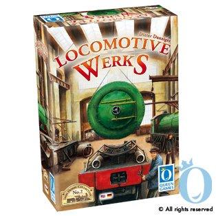 Queen Games Locomotive Werks Multi Language Board Game
