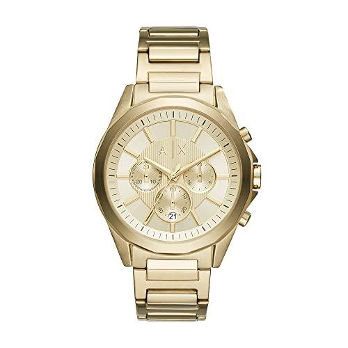 Armani Exchange Reloj Cronógrafo para Hombre de Cuarzo con Correa en Acero Inoxidable AX2602