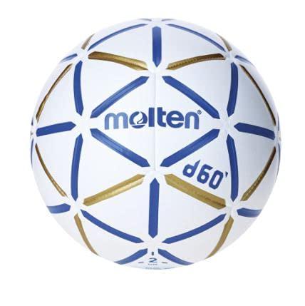 MOLTEN S3200131 Balón de Balonmano, H2D4000-Bw, Cuero Sintético, Talla 2, Unisex Adulto, Blanco