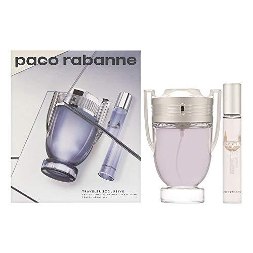 Paco Rabanne Invictus Eau De Toilette Spray Set 2 Pezzi 2019-100 ml