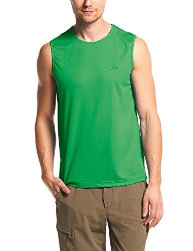 Maier Sports T-Shirt Peter en 100% PES 11 Tailles et Beaucoup de Couleurs, Shirt/débardeur/T-Shirt Multifonctions, sans Manches, séchage Rapide, Respirant et Facile d'entretien L Aviator