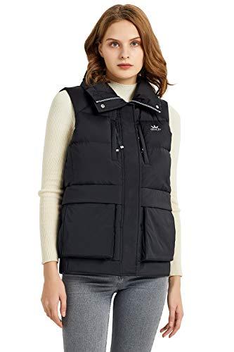 Orolay Chaleco Ligero para Mujer Chaqueta de Plumón Acolchado Empacable Abrigo sin Mangas