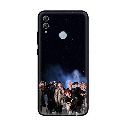 BTS Huawei P20 Lite Funda Carcasa Suave Silicona Case Jimin V Jung Kook Suga Jin RM J-Hope Cover para Huawei P20 Lite