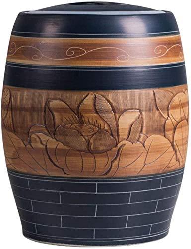 Reiskiste, Keramik, zur Schädlingsbekämpfung, Feuchtigkeitsaufbewahrung, Reiseimer, Mehleimer, Getreidebehälter, 5 kg