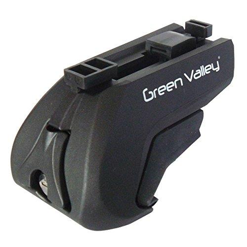 Flauraud 4Pies de Tipo Trek CC para Barras de Techo Green Valley–156600