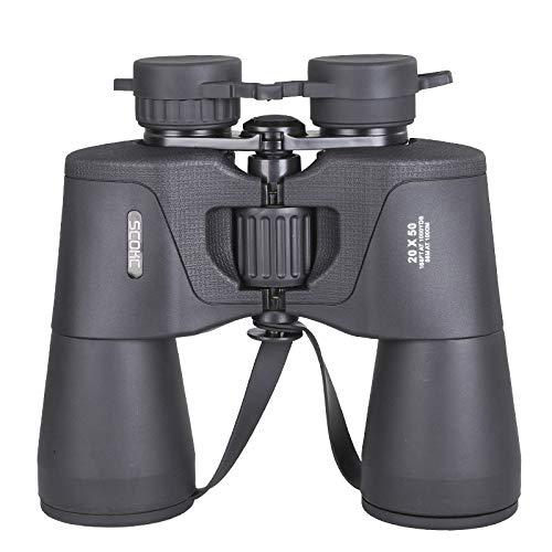 Prismáticos SCOKC binoculares 20x50 de alta potencia, compacto HD profesional/diario impermeable binoculares telescopio para adultos...