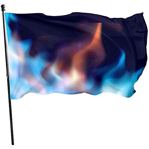Dem Boswell Gartenfahne Feuershow Abstrakt Brennende Fahnen Verblassen Beständig Außenbanner Feiertag Und Saisonale Dekorative Fahnen 180 X 120 cm