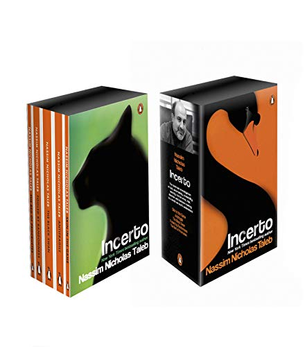 Incerto Box Set: Antifragile, The Black Swan, Fooled by Randomness, The Bed of Procrustes, Skin in the Game