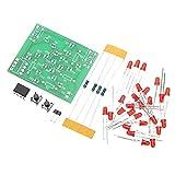 Yongenee Velocidad Ajustable Curso MCU Diseño Determinado for Soldadura 3pcs Kit Kit de Entrenamiento DC 5V Bricolaje electrónico del Molino de Viento de Bricolaje