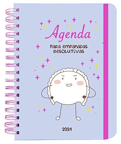 Agenda anual semana vista 2021 Croqueta y Empanadilla (TANTANFAN)