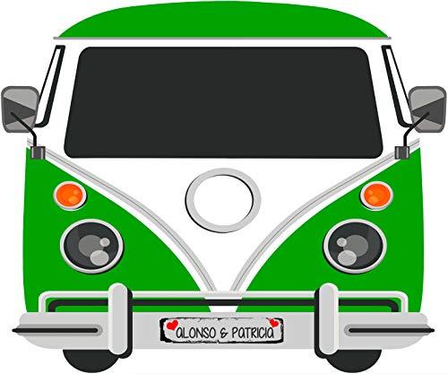 Tu Fiesta Mola Mazo Furgoneta Vintage 120x100cm| Divertido y económico|Detalle de Boda, Cumpleaños, Comunión| Personalizable …
