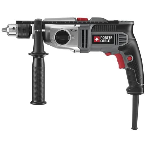 PORTER-CABLE Hammer Drill, 1/2-Inch, 7-Amp,...
