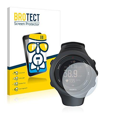 brotect Pellicola Protettiva Vetro Compatibile con Suunto Ambit3 Sport Black/Vertical Schermo Protezione, Estrema Durezza 9H, Anti-Impronte
