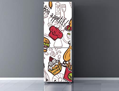 Oedim Pegatinas Vinilo para Frigorífico Bon Appetit ! | 185