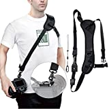 Arac Swiss Quick Release Camera Strap with Safety Tether, Non-slip Neoprene Shoulder Neck